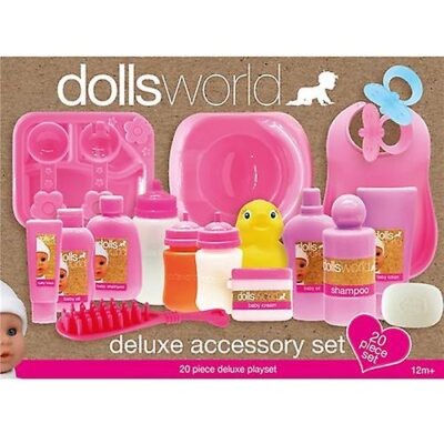 Dollsworld Delux tillb set