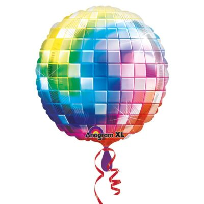 Folieballong Disco XL