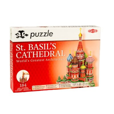 3D puzzel St. Basil´s Cathedral