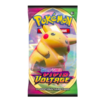 Pokémon Vivid Voltage, 1 Booster