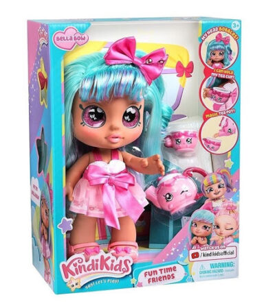 Kindi Kids Bella Bow Doll